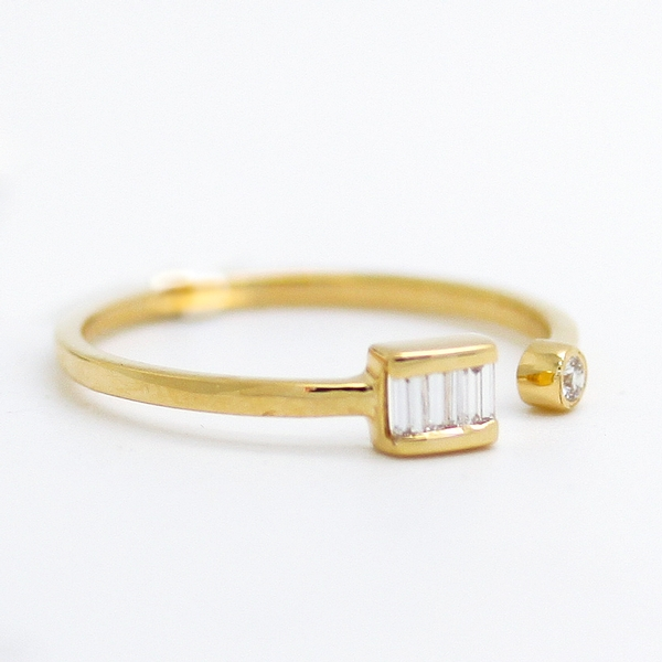 Open Front Diamond Ring - Item # R0414 - Reliable Gold Ltd.
